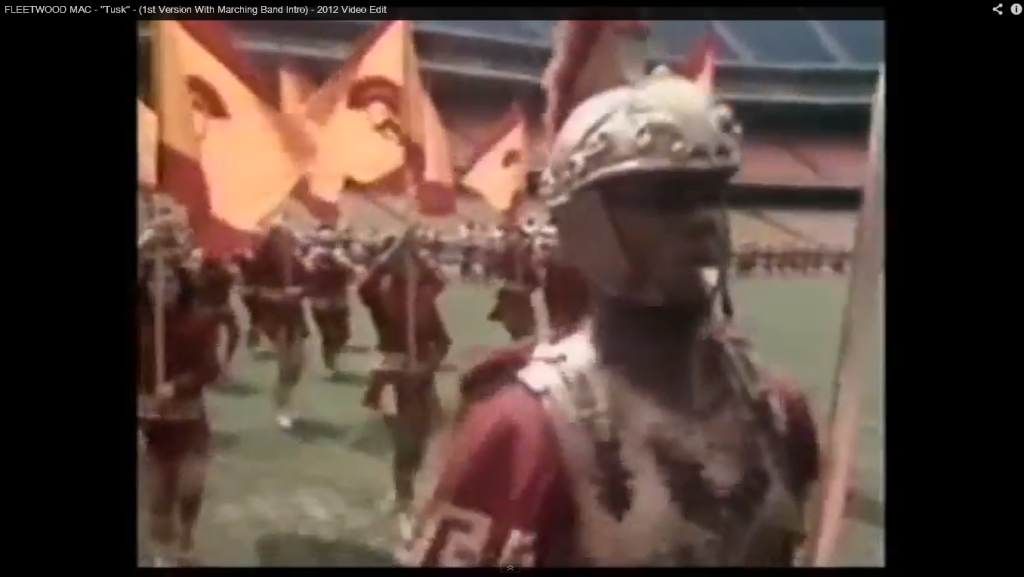 "Flashback Video: Fleetwood Mac ""Tusk"" original footage with the USC marching band."