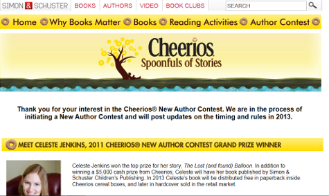 CheeriosContestWinners2011